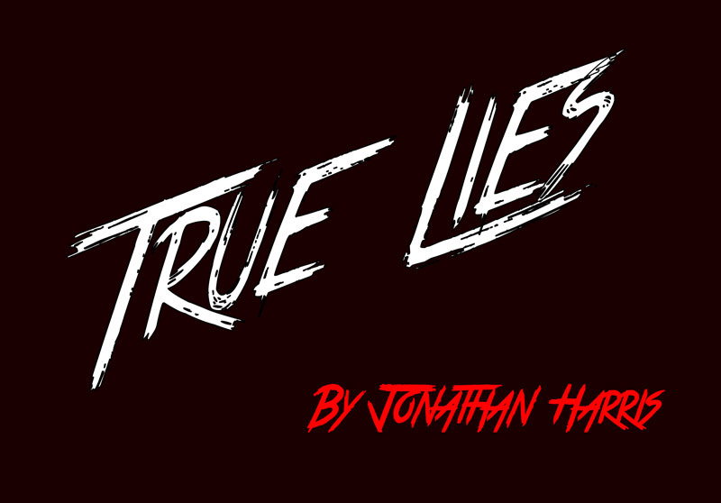 true lies horror and scary font