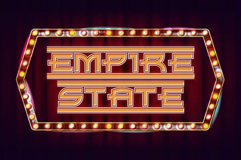 empire state 90s fonts