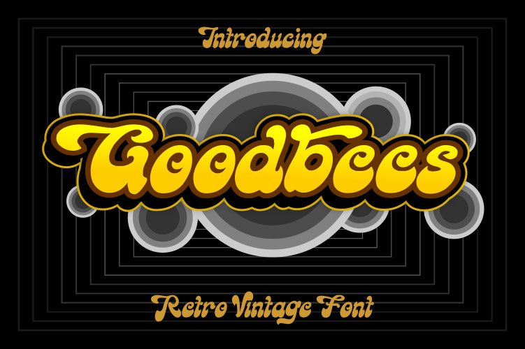 goodbees 90s fonts