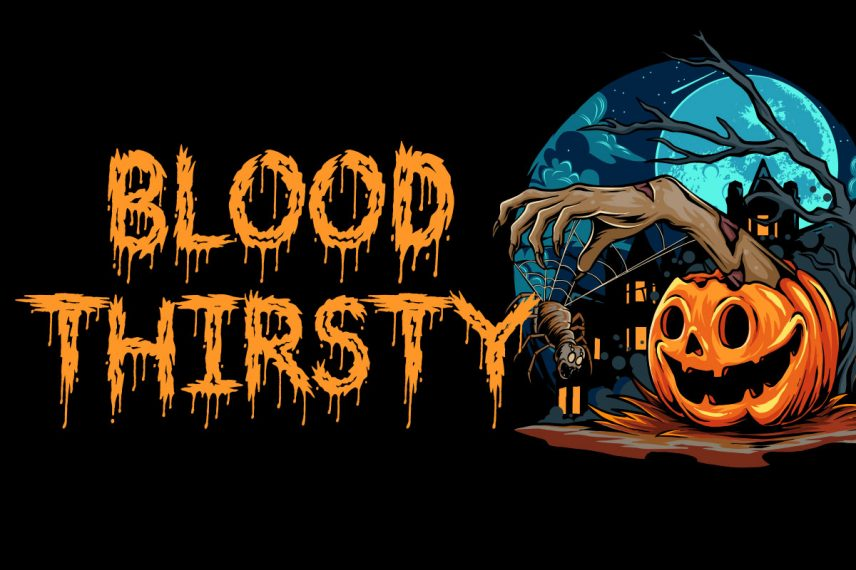 bloodthirsty dripping font