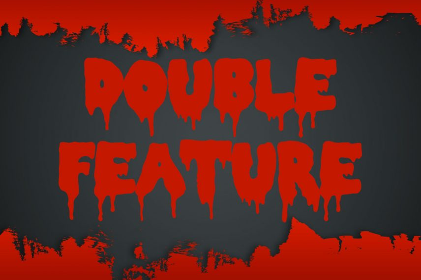 double feature dripping font